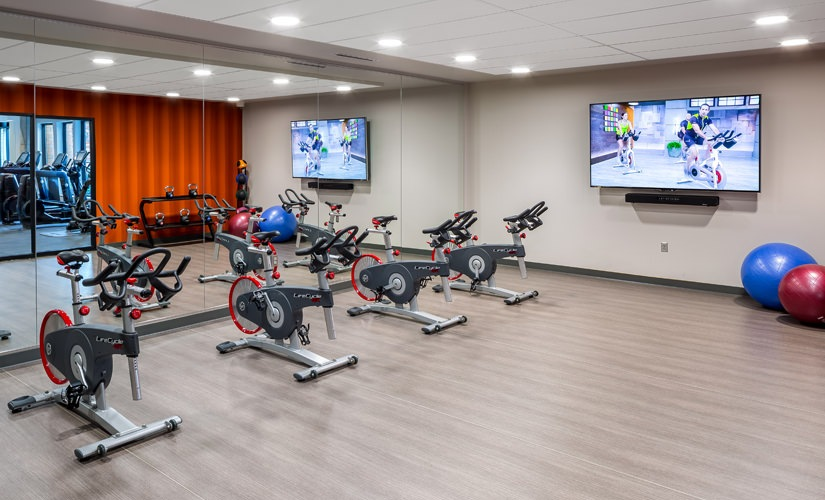 Group Fitness/Yoga Room